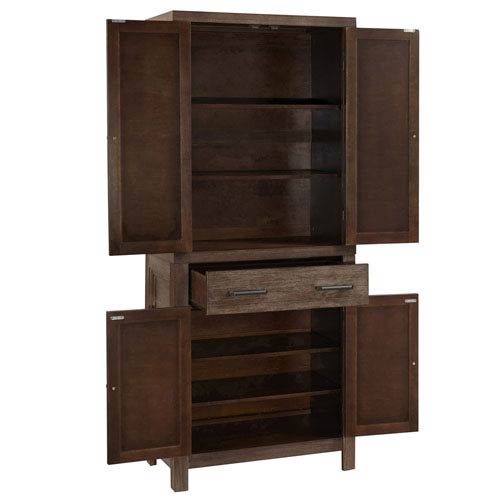 Home Styles Furniture Americana Black Pantry 5004 694