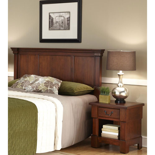 Aspen Queen and Full Headboard and Night Stand