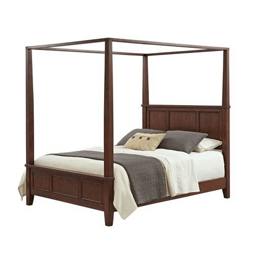 Chesapeake Cherry King Canopy Bed