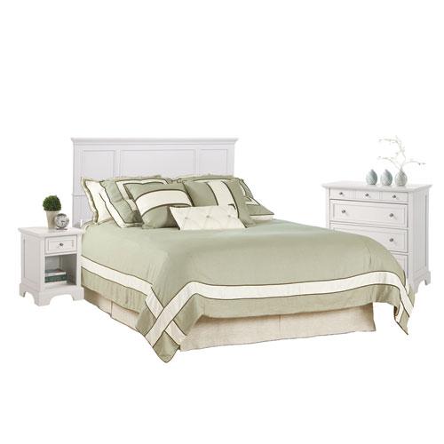 Naples White Queen Bedroom Set