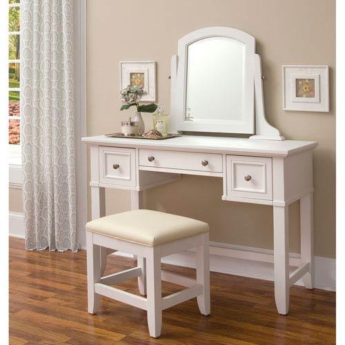 Home Styles Furniture Naples Vanity and Vanity Bench