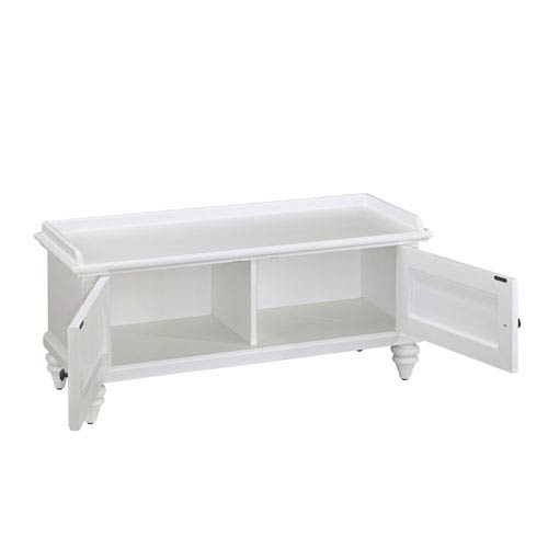 Home Styles Furniture Bermuda Brushed White 47 25 Inch