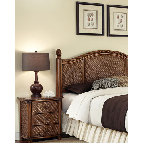 Home Styles Furniture Marco Island King and California King Headboard and Night Stand
