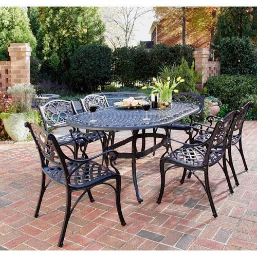 Home Styles Furniture Biscayne Seven Piece Dining Set