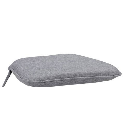 Home Styles Furniture Largo Gray Polyester Seat Cushion