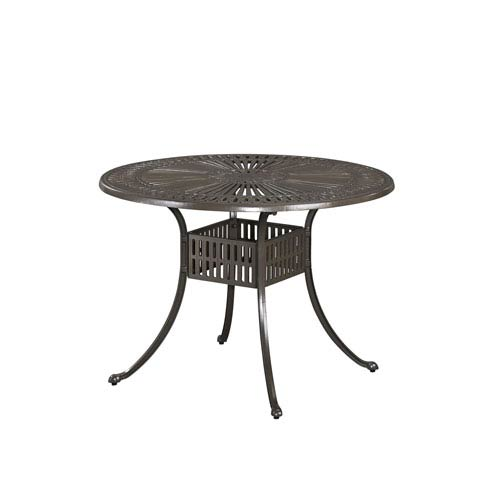 Home Styles Furniture Largo Taupe 42 Inch Round Outdoor Outdoor