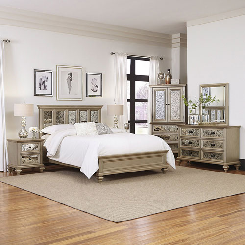 Visions 5 Piece King Bedroom Set