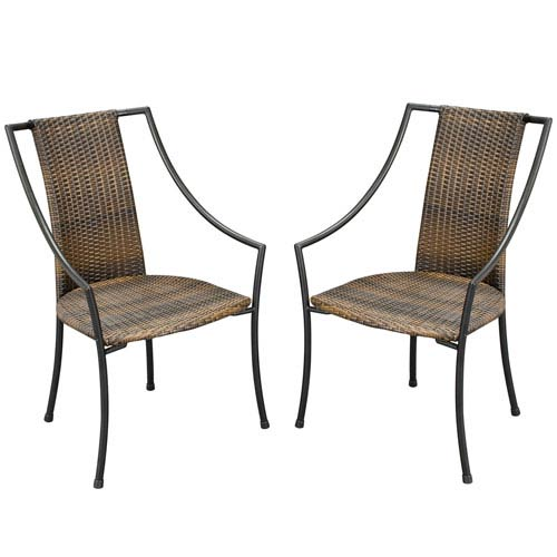 Home Styles Furniture Laguna Dining Chair, Set of Two