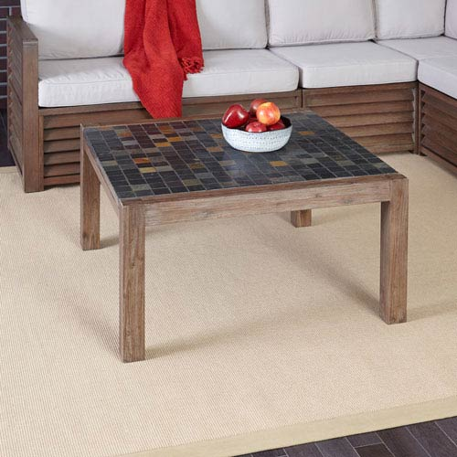 Home Styles Furniture Morocco Slate Coffee Table 5601 21 Bellacor