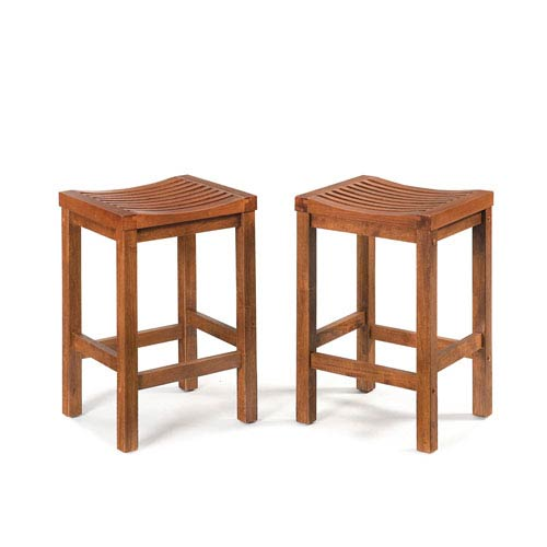 Home Styles Furniture Cottage Oak 24 Inch Bar Stool 5636 88 Bellacor