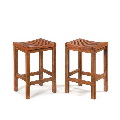 Home Styles Furniture Cottage Oak 24 Inch Bar Stool 5636 88 Bellacor