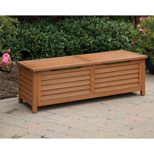 Home Styles Furniture Montego Bay Eucalyptus Deck Box