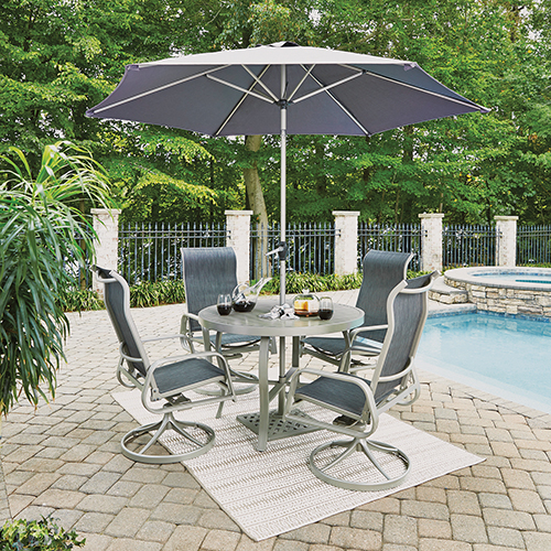 Patio Dining Sets On SALE Bellacor - 7 piece outdoor dining set round table