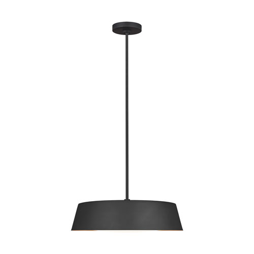 Asher Midnight Black Five-Light Pendant
