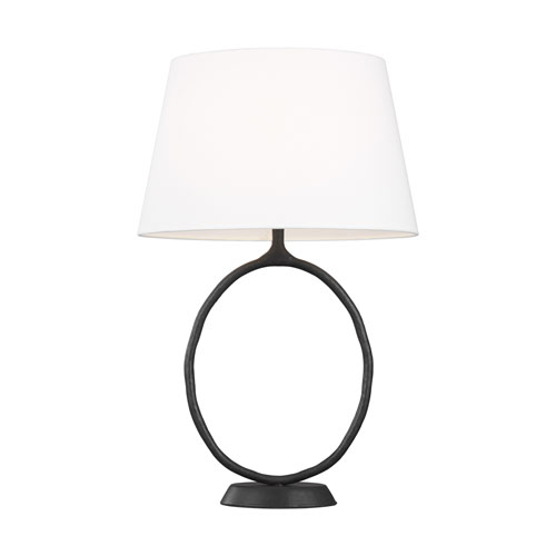 Indo Aged Iron LED Table Lamp