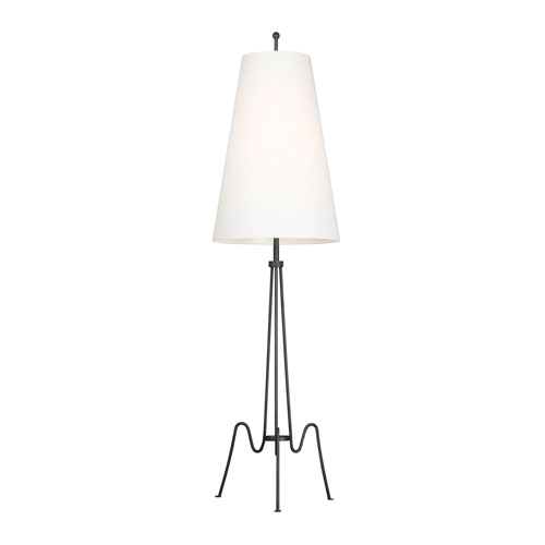 Mabel Aged Iron LED Floor Lamp