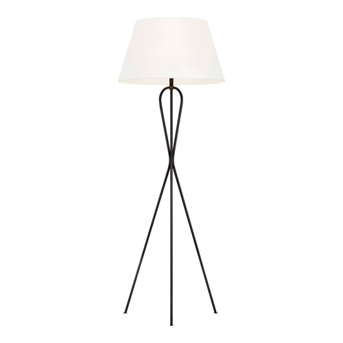 Francis Aged Iron LED Floor Lamp