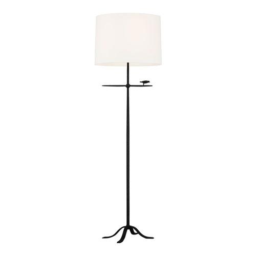 Caroline Aged Iron LED Floor Lamp