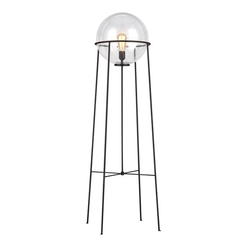 Atlas Aged Iron LED Floor Lamp