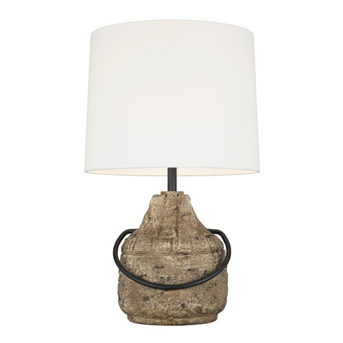 Augie Stone LED Table Lamp