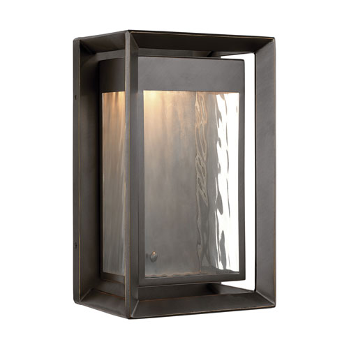 Urbandale Antique Bronze 13-Inch LED Outdoor Wall Sconce