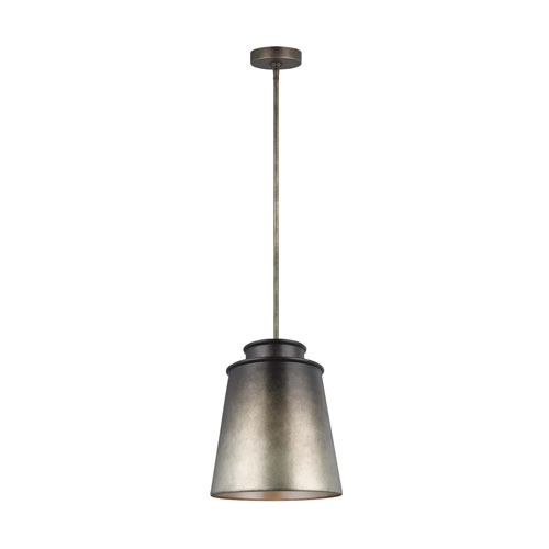 Fiona Oil Can Grey One-Light Pendant