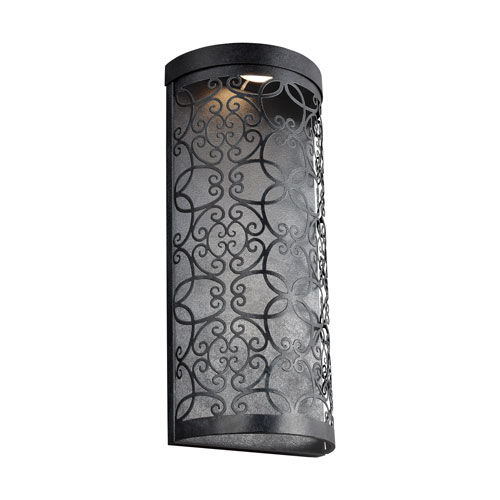 Arramore Dark Weathered Zinc LED Outdoor Wall Sconce