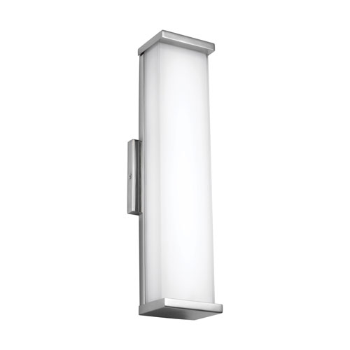 Altron Polished Stainless Steel 19-Inch LED Outdoor Wall Sconce