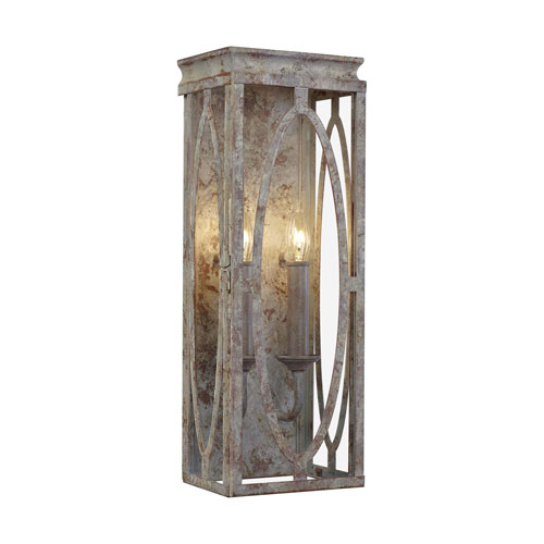 Patrice Deep Abyss Two-Light Bath Vanity
