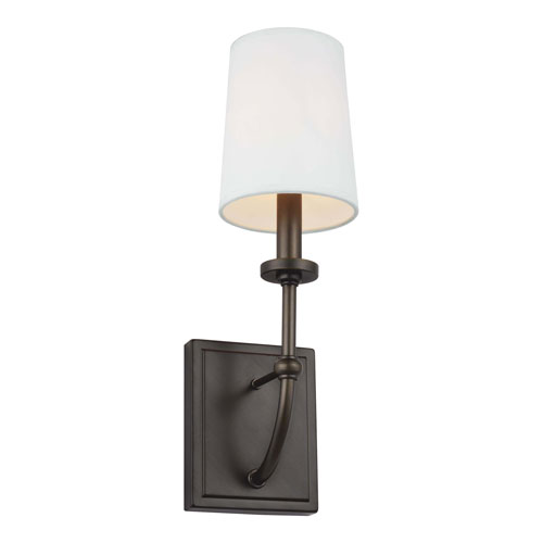 Stowe Antique Bronze One-Light Bath Wall Sconce