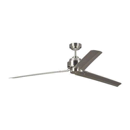 Arcade Brushed Steel 68-Inch Ceiling Fan