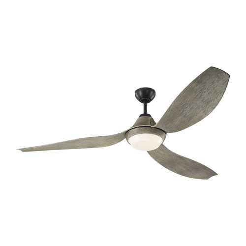 Avvo Max Aged Pewter 64-Inch LED Ceiling Fan