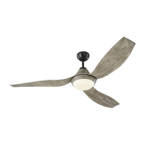 Avvo Aged Pewter 56-Inch LED Ceiling Fan