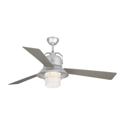 Boynton Painted Brushed Steel 54-Inch LED Outdoor Ceiling Fan