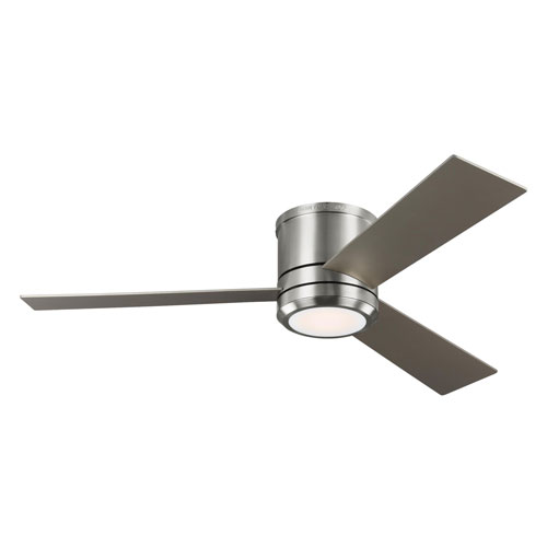 Clarity Max Brushed Steel 56-Inch LED Ceiling Fan