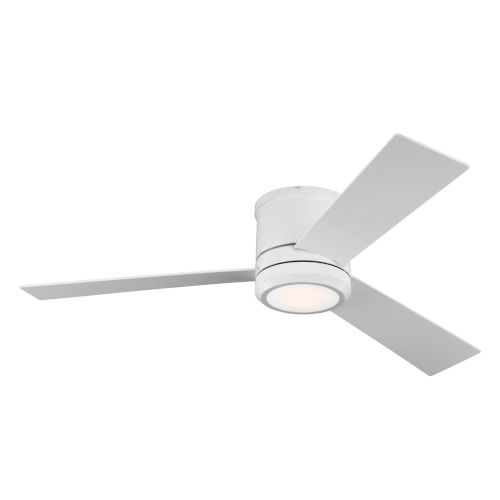 Clarity Max Matte White 56-Inch LED Ceiling Fan