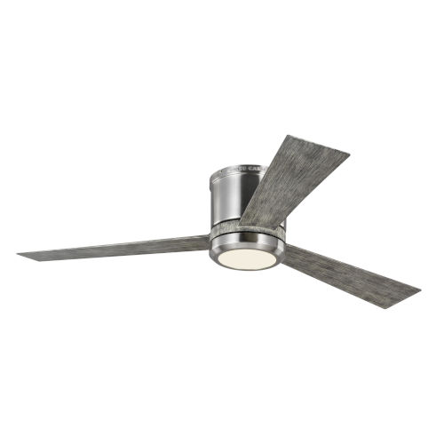 Clarity Brushed Steel 52-Inch LED Ceiling Fan