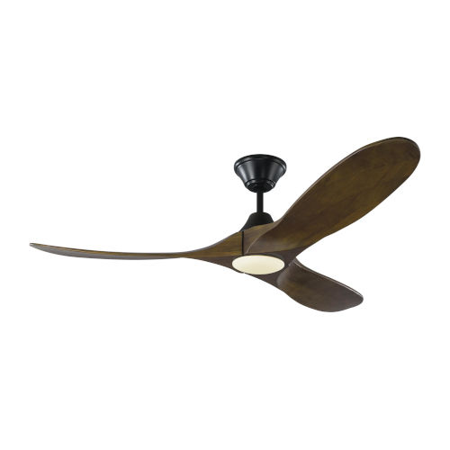 Maverick Matte Black 52-Inch LED Ceiling Fan