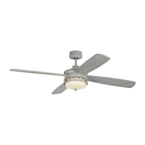 Lemont Washed Grey 56-Inch DC Motor LED Ceiling Fan