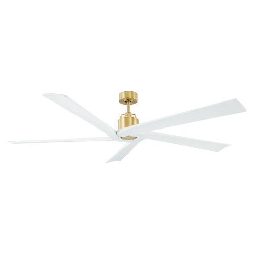 Aspen Burnished Brass 70-Inch Indoor Outdoor Ceiling Fan