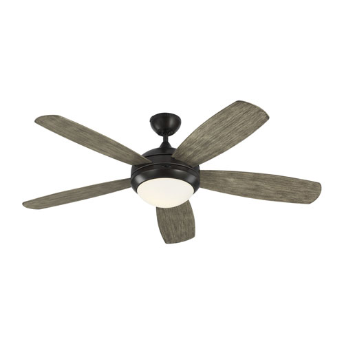 Discus Aged Pewter 52-Inch One-Light Ceiling Fan