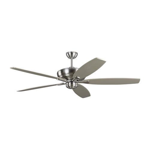 Dover Brushed Steel 60-Inch Ceiling Fan