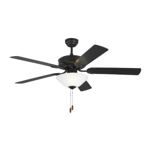 Haven II Matte Black 52-Inch LED Ceiling Fan