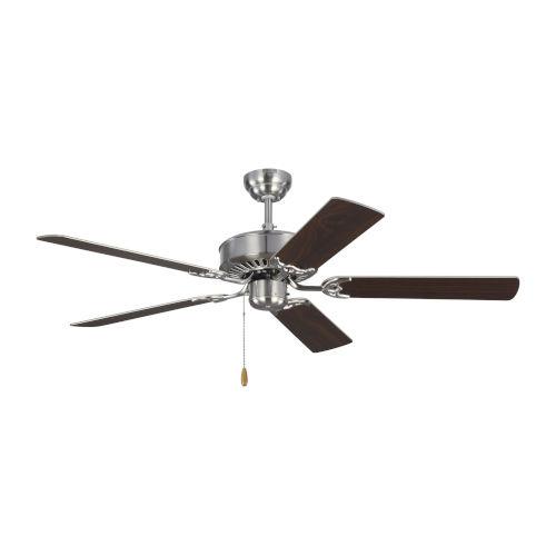 Haven Brushed Steel 52-Inch Ceiling Fan
