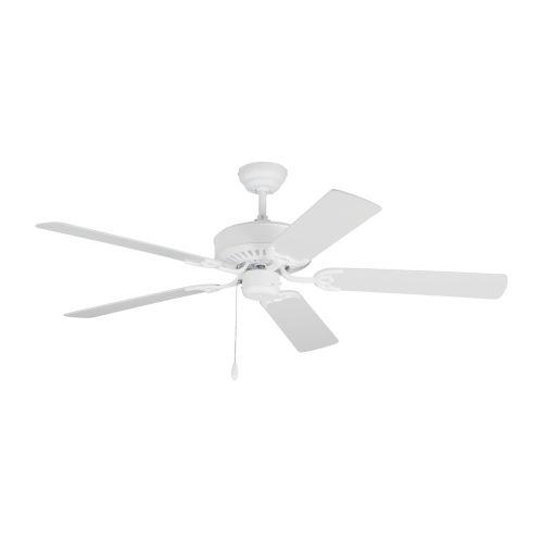 Haven Matte White 52-Inch Ceiling Fan