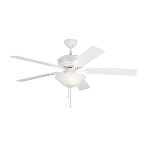 Haven II Matte White 52-Inch LED Ceiling Fan