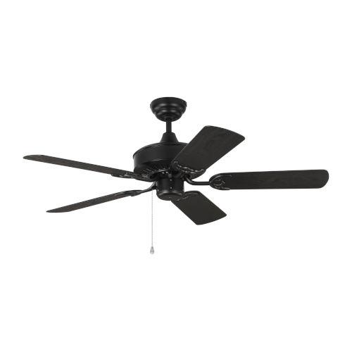 Haven Matte Black 44-Inch Outdoor Ceiling Fan