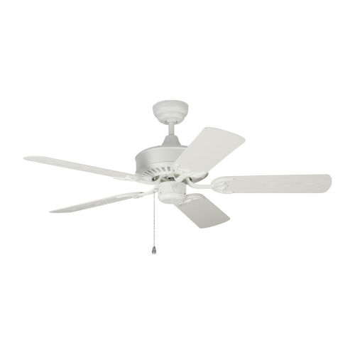 Haven Matte White 44-Inch Outdoor Ceiling Fan