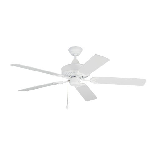 Haven Matte White 52-Inch Outdoor Ceiling Fan