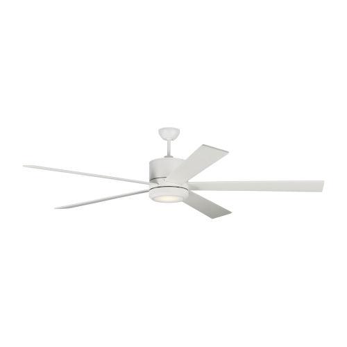 Vision Matte White 72-Inch LED Ceiling Fan